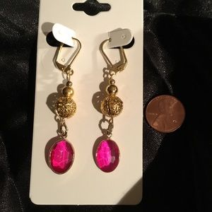 Translucent Pink Earrings